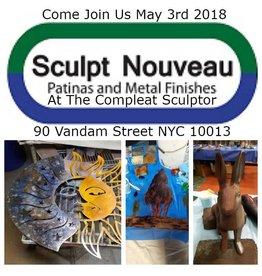 180503 Sculpt Nouveau Patina Demonstration May 3