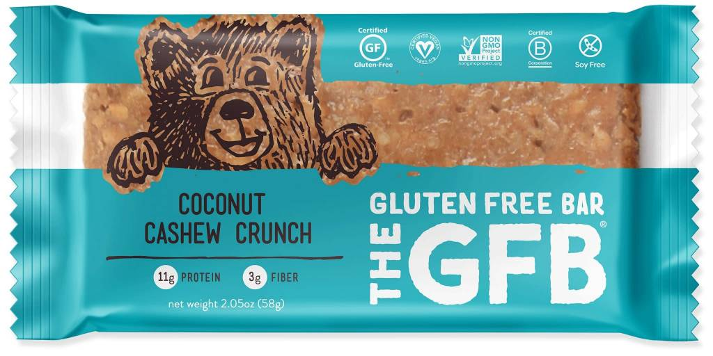 The GFB Coconut Cashew Crunch