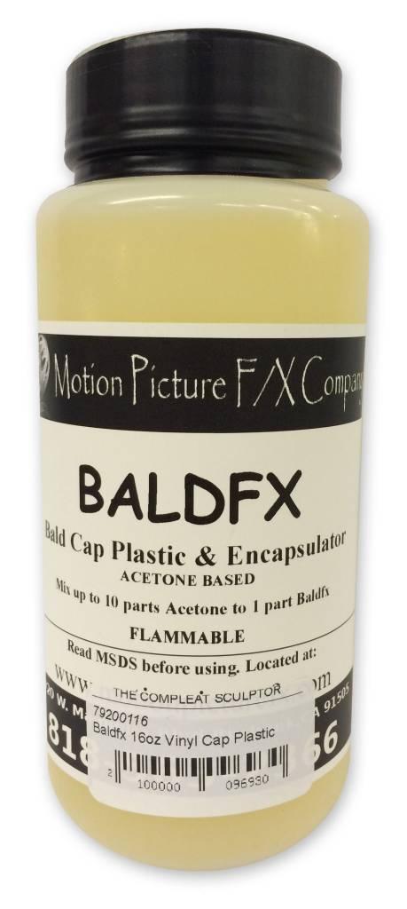 Vinyl Bald Cap Plastics Baldfx 16oz