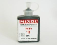 Mixol #11 Violet (all sizes)
