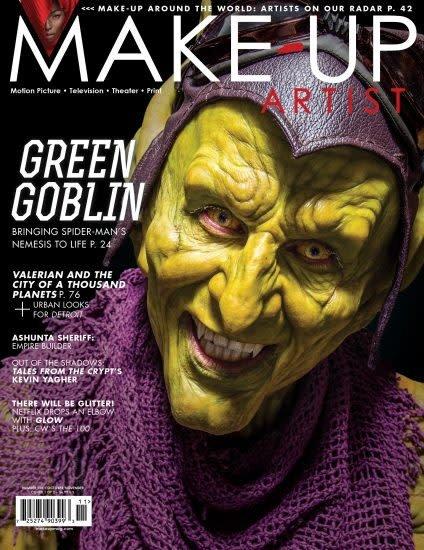 Make-Up Artist Magazine Make-Up Artist Magazine 128 Oct/Nov 2017