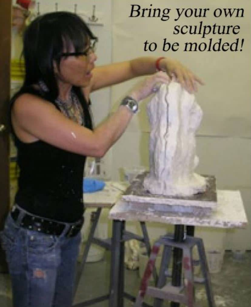 TCS Classes 180630 Mold-Making Hands-On Intensive Workshop June 30 - July1
