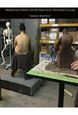180729 The Quick Sketch: Sculpting from Life & Practical Anatomy for Artists Class