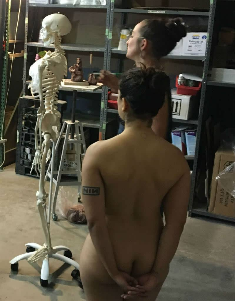 180603 The Long Pose Class: Modeling from Life & Practical Anatomy