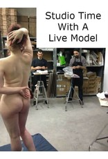 180603 Studio Time With A Live Model June 3rd