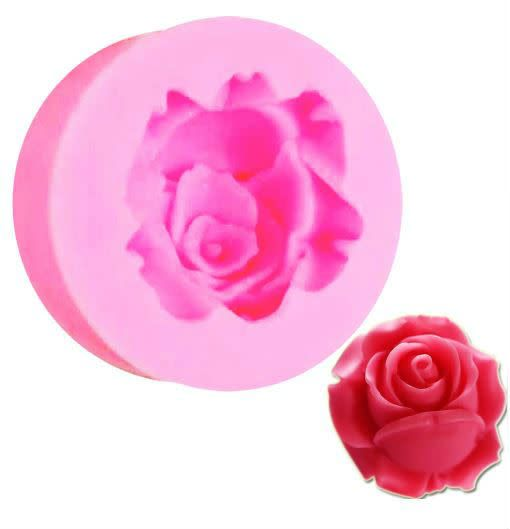 Silicone Mold Rose Small