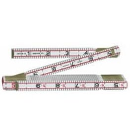 6' Engineers Scale Wood Ruler