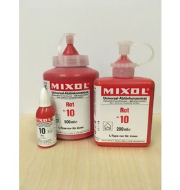 Mixol #10 Red (all sizes)
