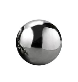 Silver Mirror Finish Stainless Steel Sphere 30cm (12in)
