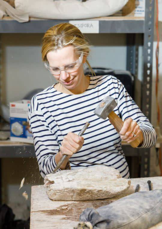 180905 Stone Carving Wednesday Afternoon Class/September