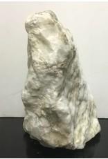 67lb Mario's White Translucent Alabaster Boulder 15x14x10 #101077