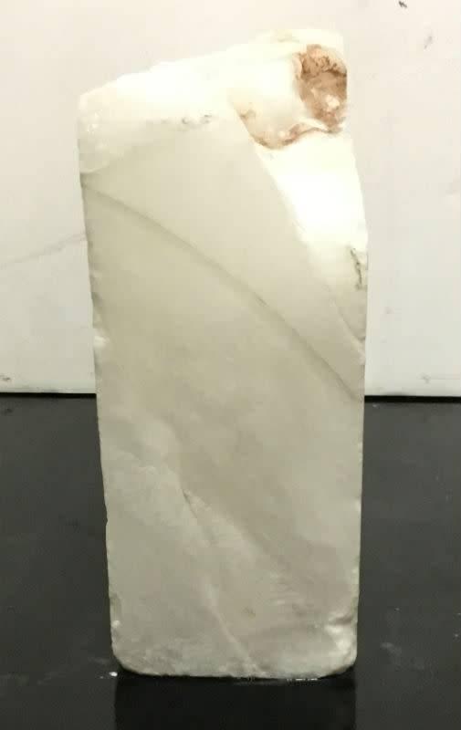 26lb Mario's White Translucent Alabaster 13x8x4 #101080
