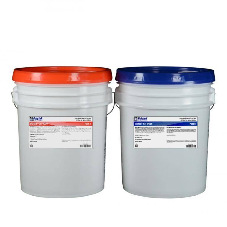 Polytek PlatSil Gel 0030 10 Gallon Kit