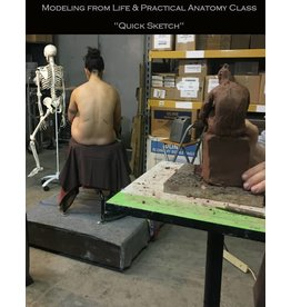 180805 The Quick Sketch: Sculpting from Life & Practical Anatomy for Artists Class