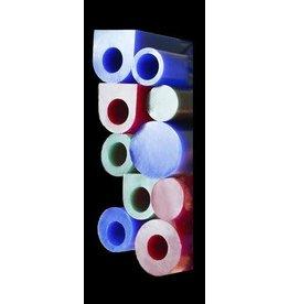 Du-Matt Wax Tube Blue Flat Top