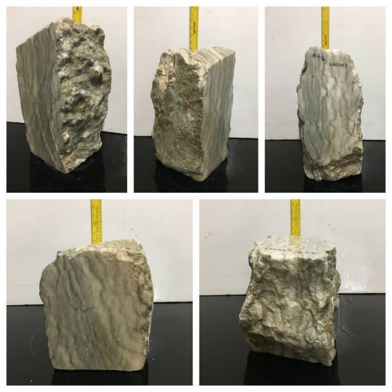 44lb Silver Cloud Alabaster 13x7x6 #662353