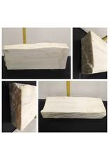 68lb Statuario Puro Bianco Marble 24x9x3 #361019