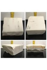 16lb Statuario Puro Bianco Marble 7x6x3 #361009