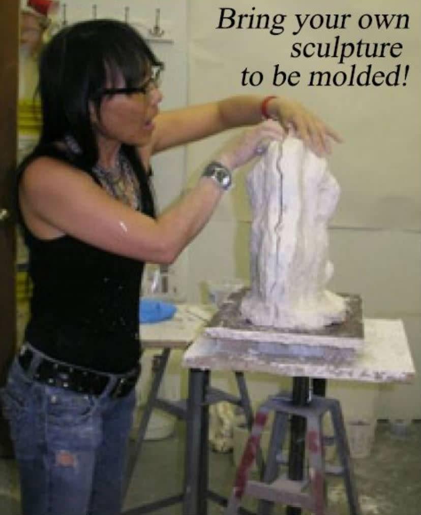 TCS Classes 181207 Mold-Making Hands-On Intensive Workshop December 7-9