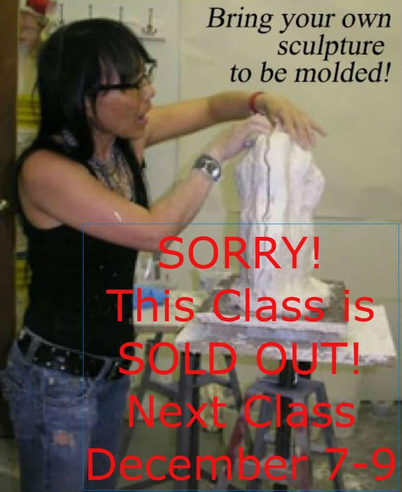 TCS Classes 180914 Mold-Making Hands-On Intensive Workshop September 14-16