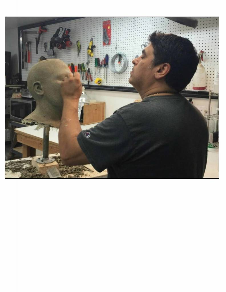 """180929 JTM """"Creating the Positive and Sculpting the Prosthetic."""" Part 2 3-6pm"""