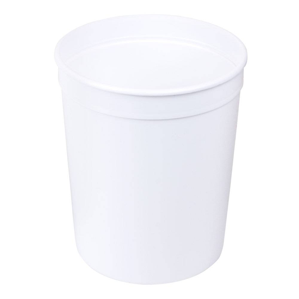 80 oz. White Polyethylene Container