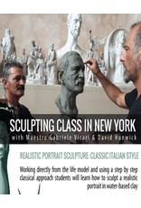 181102 Sculpting the Portrait With A Live Model