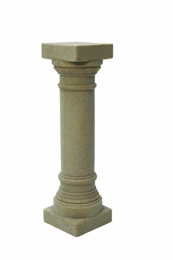 Plastic Grecian Pedestal 9x9x32