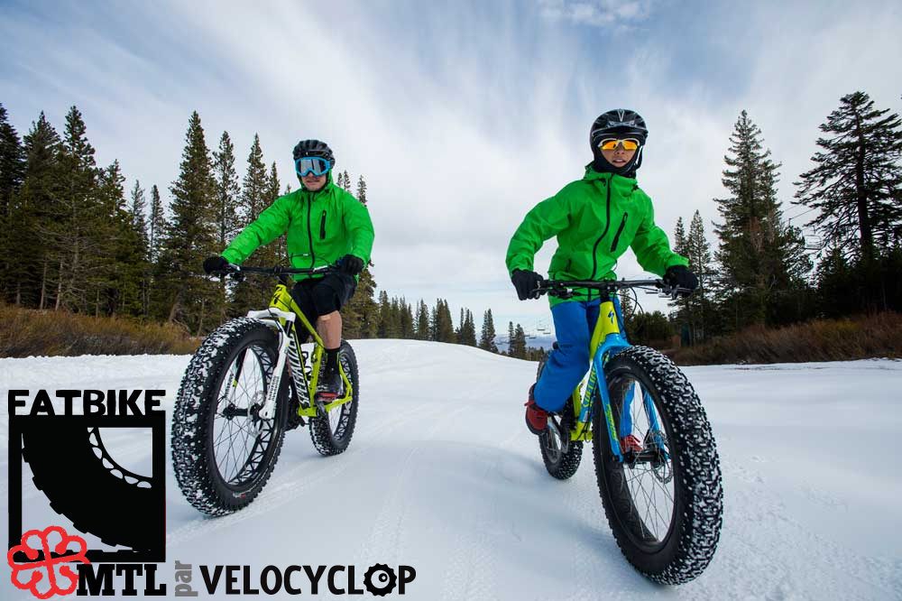 Location Fatbike par Velocyclop