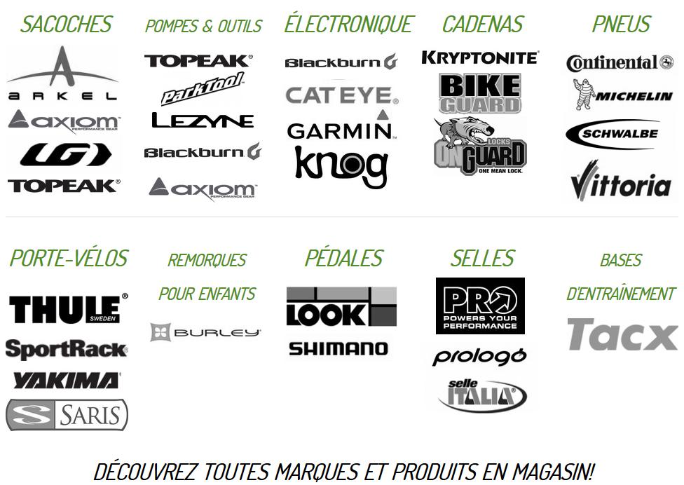 Accesssoires de vélo