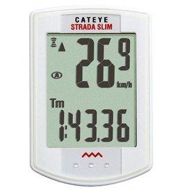 Cateye, Cyclometre strada SLIM Blanc Sans-fil