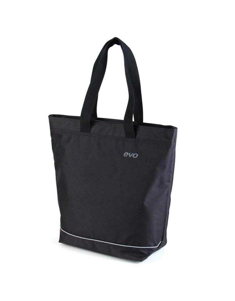 Evo, Sac E-Cargo Side Shopper Noir 15L
