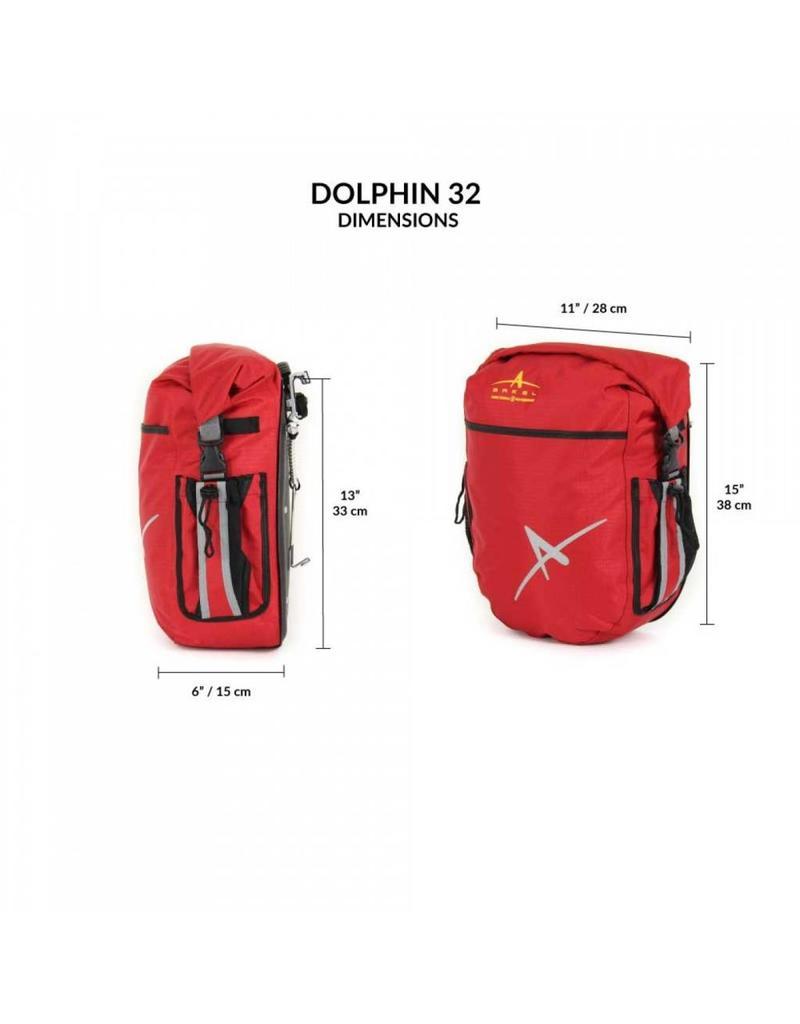 Arkel, Sacoches arrière Dauphin 32 (paire) Gris 32L