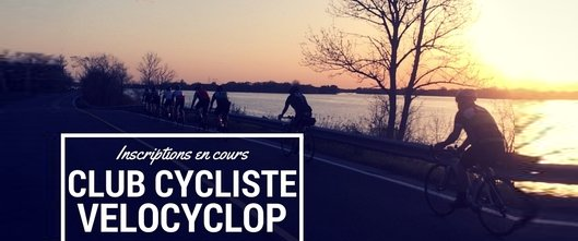 Inscriptions club cycliste Velocyclop