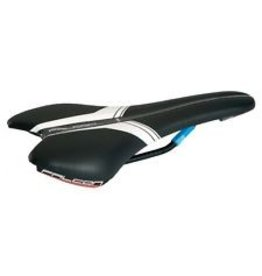 PRO, Selle Falcon Ti, microfiber Black/White 142 mm