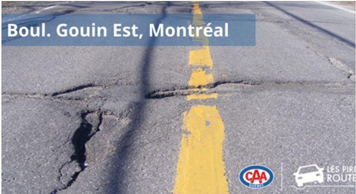 Le boulevard Gouin, pire route du Québec?