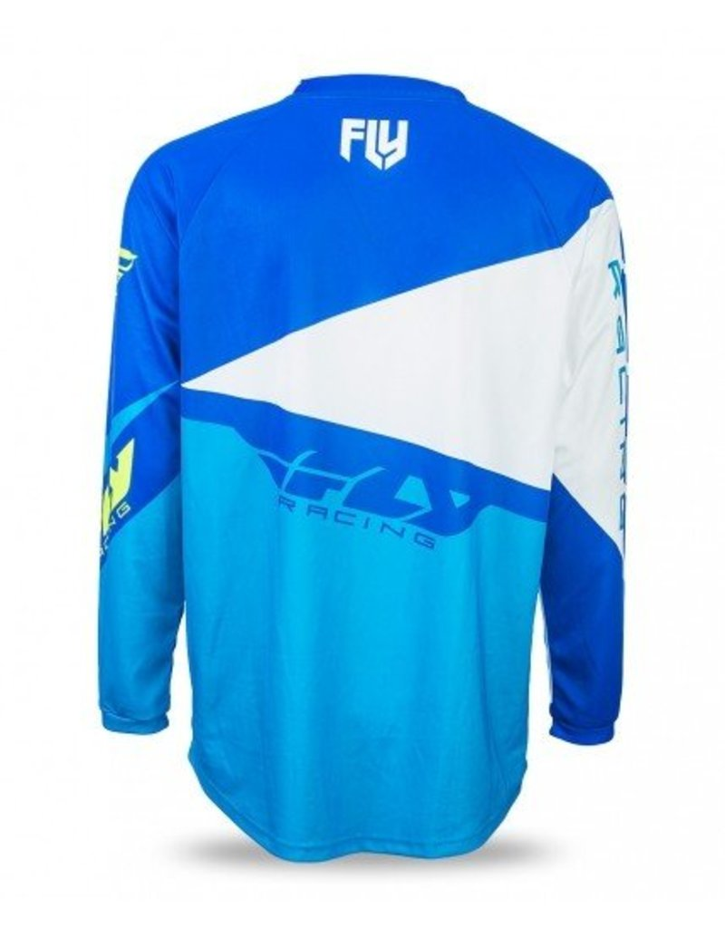 Fly Racing, Jersey manche longue F-16 Jeunes Bleu
