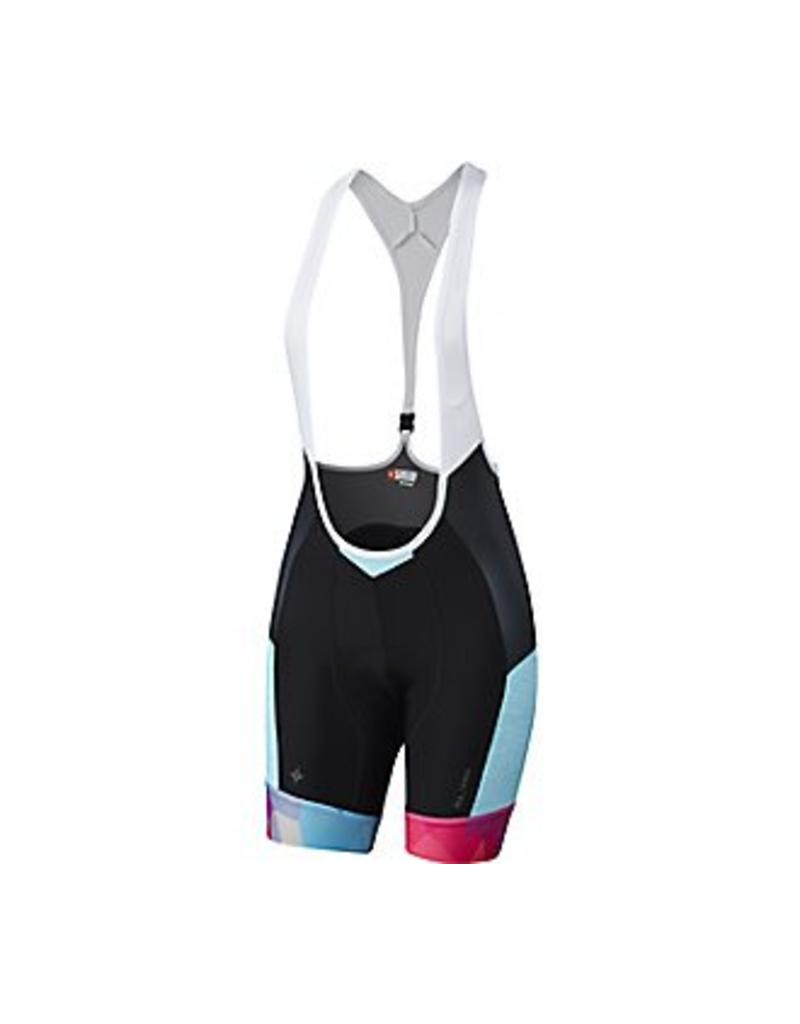 Specialized Equipement Specialized, bib SL Pro Femme (Turquoise Geo Fade)