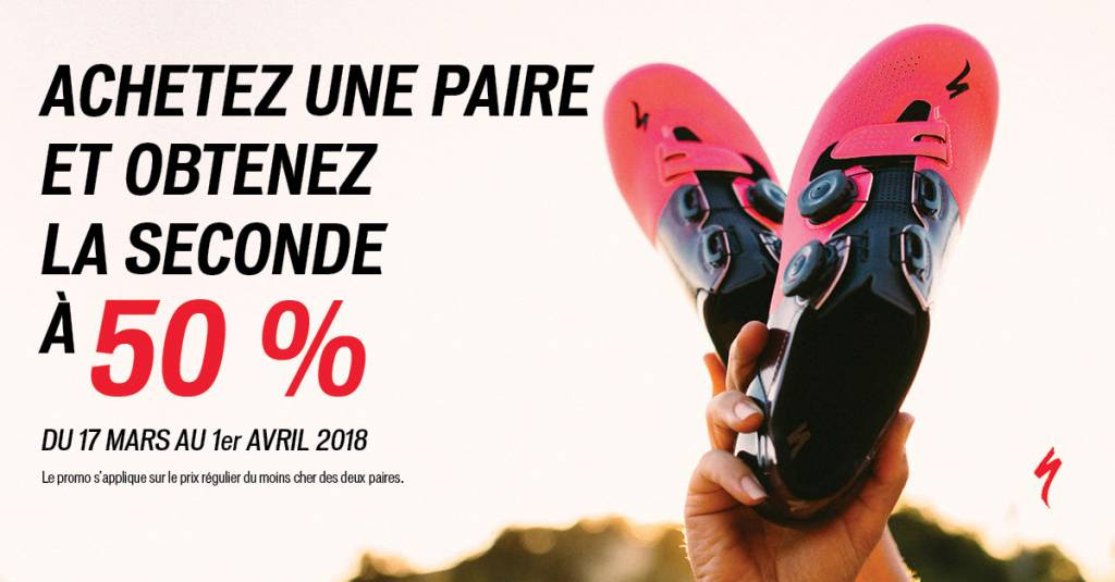 Promotion Chaussures Specialized