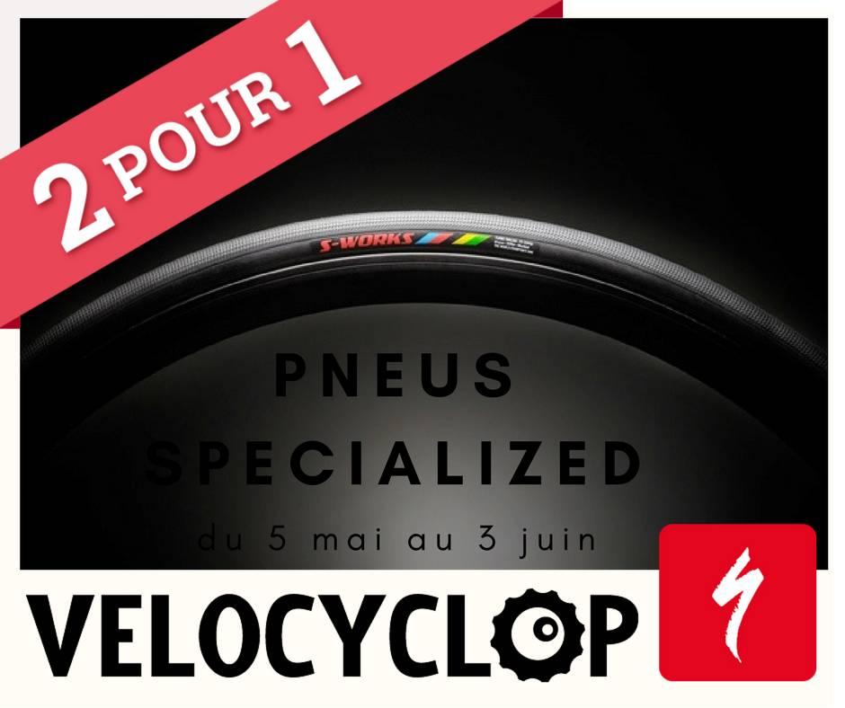 Pneus Specialized : 2e Gratuit!