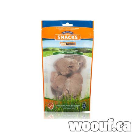 K9 Natural FD Treats - Coeur Agneau 80g