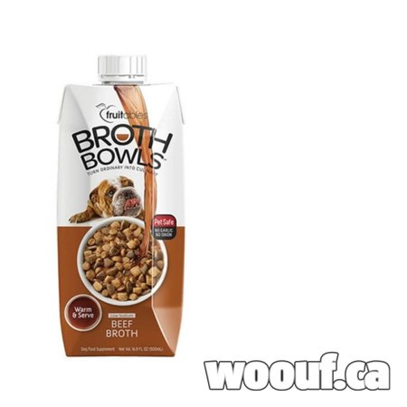 Fruitables - Broth Bowls - Beef 500ml