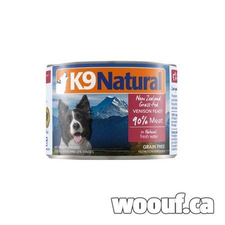 K9 Natural Can - Venison 6oz