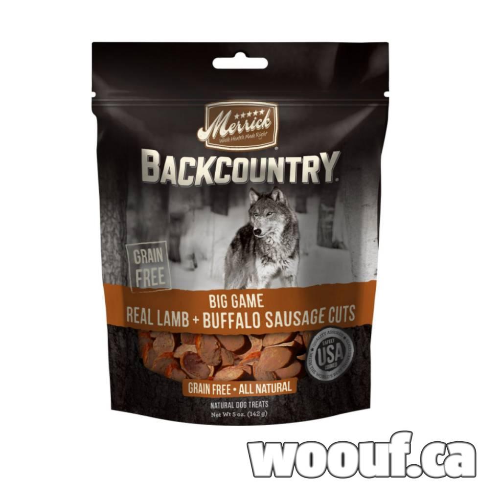 M. Backcountry - Big Game Real Lamb + Buffalo Sausage Cuts