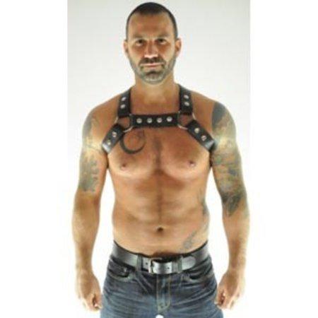One Man Armada XXXmen Chest Harness, Black