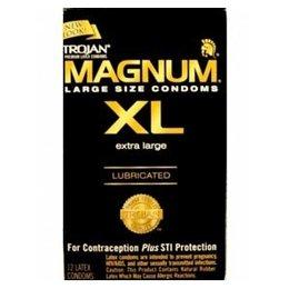 Trojan Trojan Magnum XL Condom, 12-pack