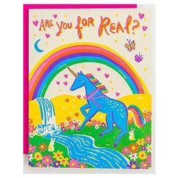 HelloLucky Are You For Real Greeting Card