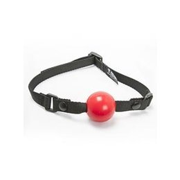 Aslan Leather Aslan Silicone Ball Gag with Vegan Strap