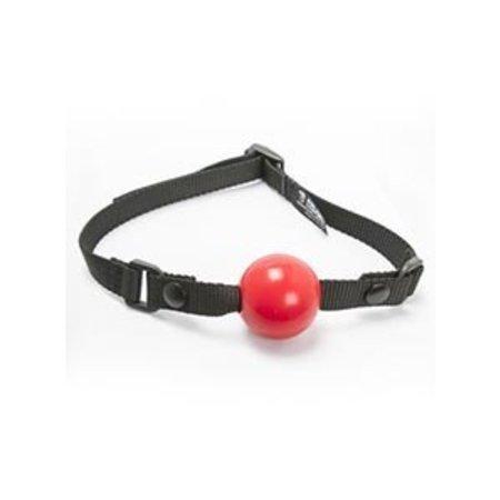 Aslan Leather Aslan Silicone Ball Gag with Vegan Strap