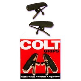 California Exotics Colt Grips Vibrating Nipple Clamps